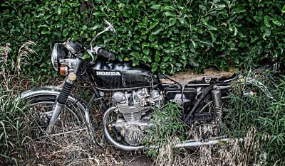 Honda 450 Motorcycle Poster