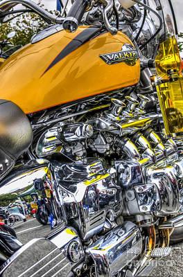 Honda Valkyrie 3 Poster by Steve Purnell