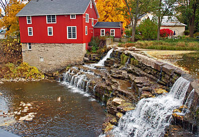 Honeoye Falls 1 Poster by Aimee L Maher Photography and Art Visit ALMGallerydotcom