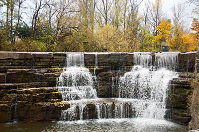 Honeoye Falls 2 Poster by Aimee L Maher Photography and Art Visit ALMGallerydotcom