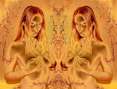Honey Goddess 2011 Poster by James Warren