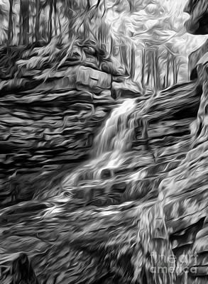 Honey Run Waterfall Poster by Brian Mollenkopf