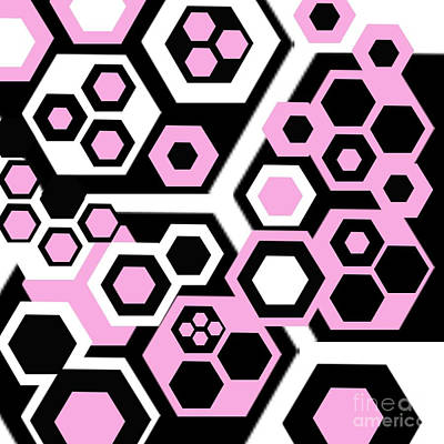 Honeycomb Poster by Andrew Kaupe