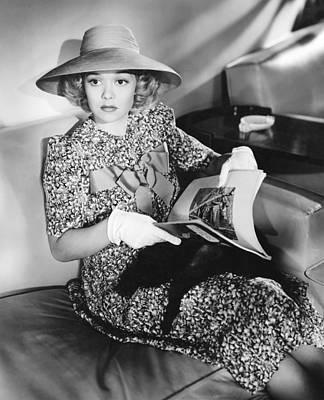 Honeymoon For Three, Jane Wyman, 1941 Poster by Everett