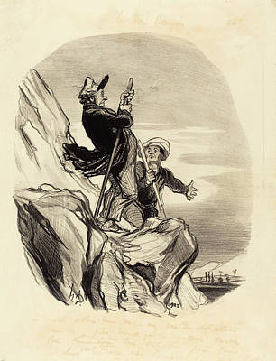 Honoré Daumier French, 1808 - 1879, Guide Poster by Quint Lox