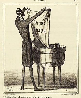 Honoré Daumier French, 1808 - 1879, Jai Beau Laver Poster