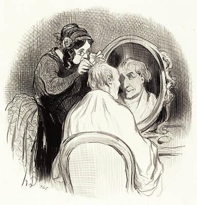 Honoré Daumier French, 1808 - 1879, Un Monsieur Quon Poster by Quint Lox