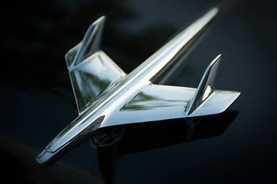 Poster featuring the photograph Hood Ornament  by Bud Simpson