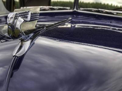 Hood Ornament For 1940 Chevrolet Poster