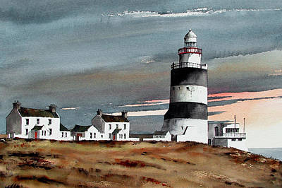 Hook Lighthouse Wexford Poster