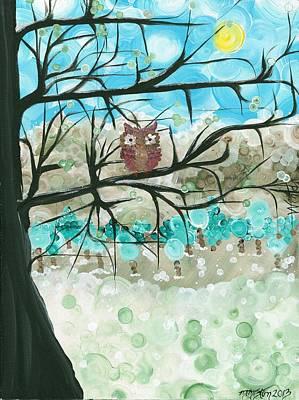 Hoolandia Seasons - Winter Poster