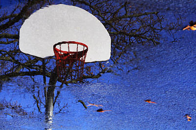 Poster featuring the photograph Hoop Dreams by Jason Politte