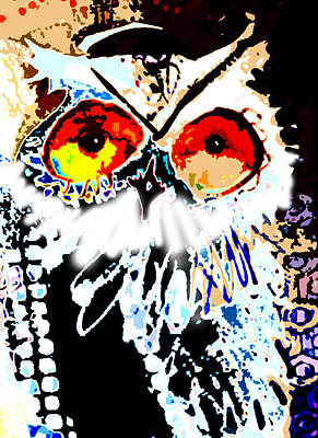 Hoot Digitized Poster