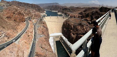 Poster featuring the photograph Hoover Dam II by Russell Smidt