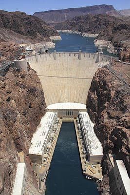 Hoover Dam Poster by Mike McGlothlen