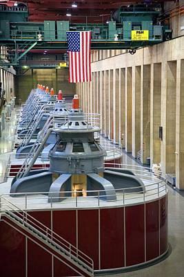 Hoover Dam Turbine Hall Poster
