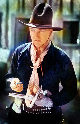 Hopalong Cassidy Poster by David Blank
