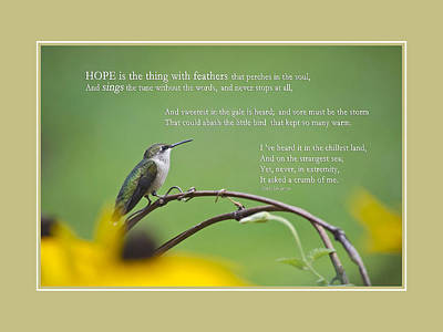 Hope Inspirational Art Poster