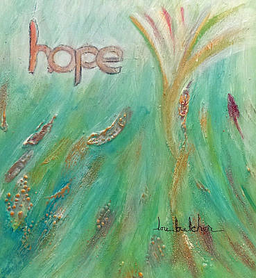 Hope Poster by Lou Belcher