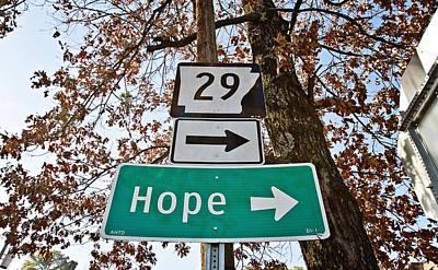 Hope Poster by Scott Pellegrin