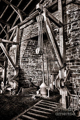 Hopewell Furnace Poster by Olivier Le Queinec