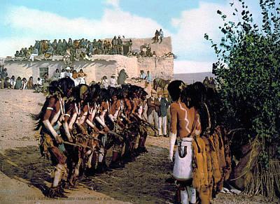 Hopi Snake Dance, C1902 Poster by Granger