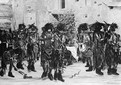 Hopi Snake Dance, C1909 Poster by Granger