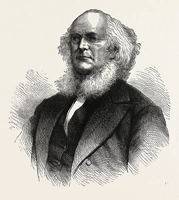 Horace Greeley, He Was An American Newspaper Editor Poster by English School