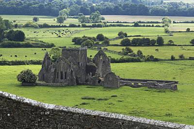 Hore Abbey Near Cashel_ County Poster by Carl Bruemmer