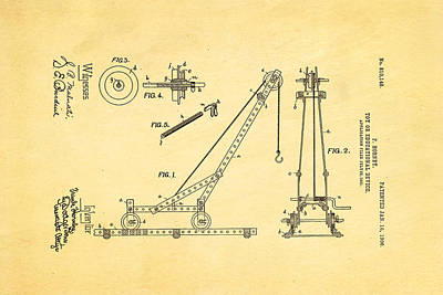 Hornby Meccano Patent Art 1906 Poster by Ian Monk