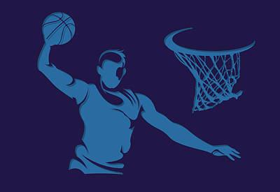 Hornets Shadow Player2 Poster by Joe Hamilton