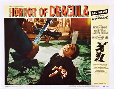 Horror Of Dracula, Peter Cushing Poster