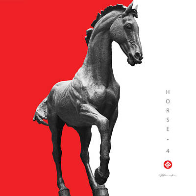 Horse 4 Poster