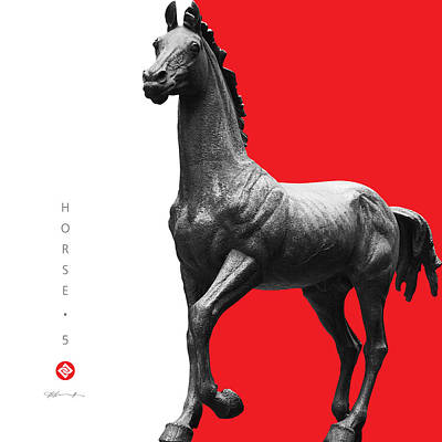 Horse 5 Poster