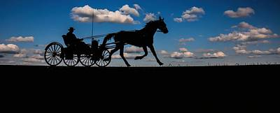 Horse And Buggy Mennonite Poster
