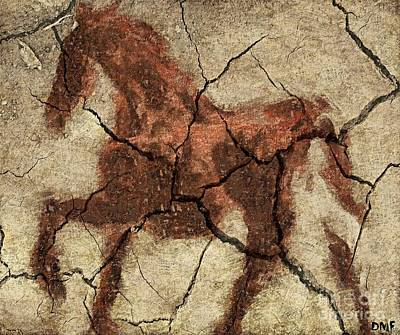Horse - Cave Art Poster by Dragica  Micki Fortuna