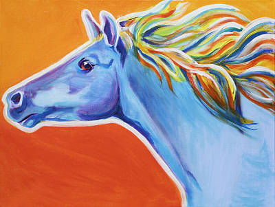 Horse - Like The Wind Poster by Alicia VanNoy Call