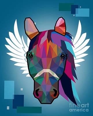 Horse  Poster by Mark Ashkenazi