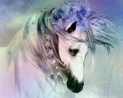 Horse Of Love Poster by Georgiana Romanovna