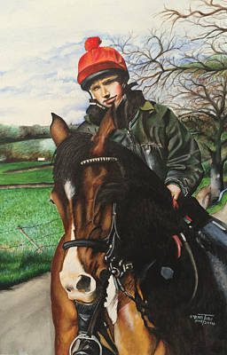 Horse Rider Poster