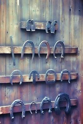 Horse Shoes Poster by JAMART Photography