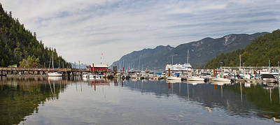 Poster featuring the photograph Horseshoe Bay Vancouver Bc Canada by JPLDesigns