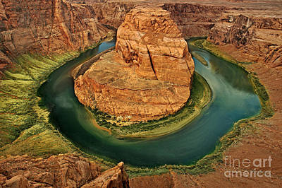 Poster featuring the photograph Horseshoe Bend by Roman Kurywczak