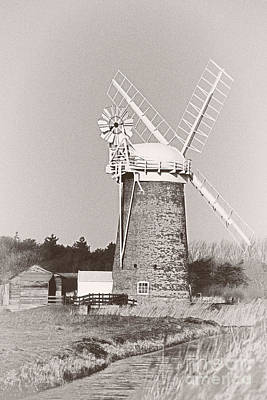 Horsey Wind Pump Vertical Poster