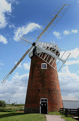 Horsey Windpump Poster by Paul Lilley