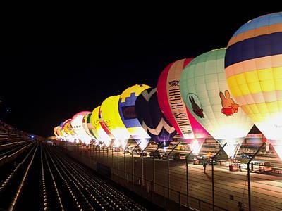 Balloon Glow Poster by John Swartz