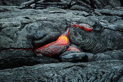 Hot Lava Poster by Jen Morrison