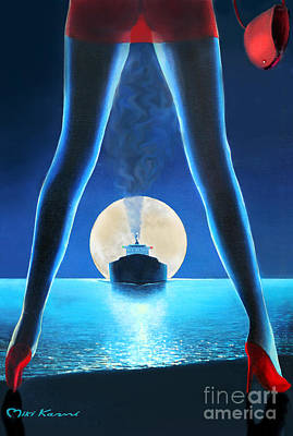 Hot Night Poster