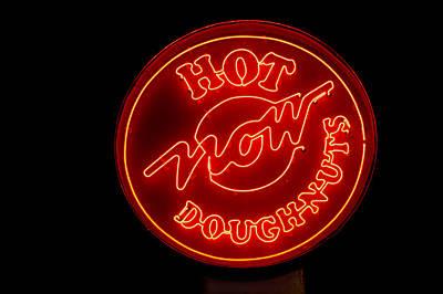 Hot Now Krispy Kreme Poster