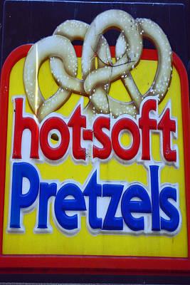 Hot Pretzels Poster by Skip Willits